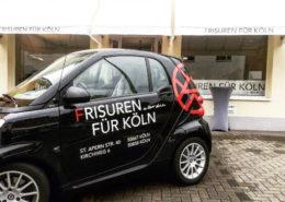 Unser kleiner Frisuren für Köln Flitzer! Herzlich Willkommen bei Frisuren für Köln in Junkersdorf.